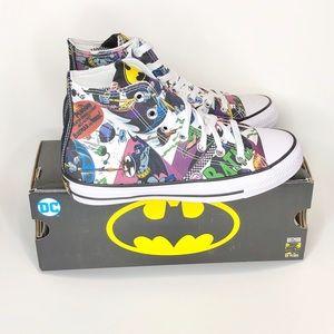 New Converse DC Batman Hi tops youth size